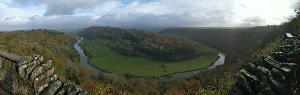 Symonds Yat Rock View, Wye Valley, Gloucestershire, UK