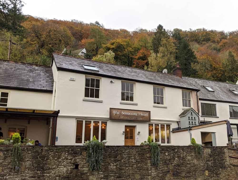 The Saracens Head, Symonds Yat, Wye Valley, Gloucestershire, UK