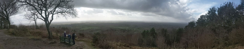View from Pitch Hill, Surrey
