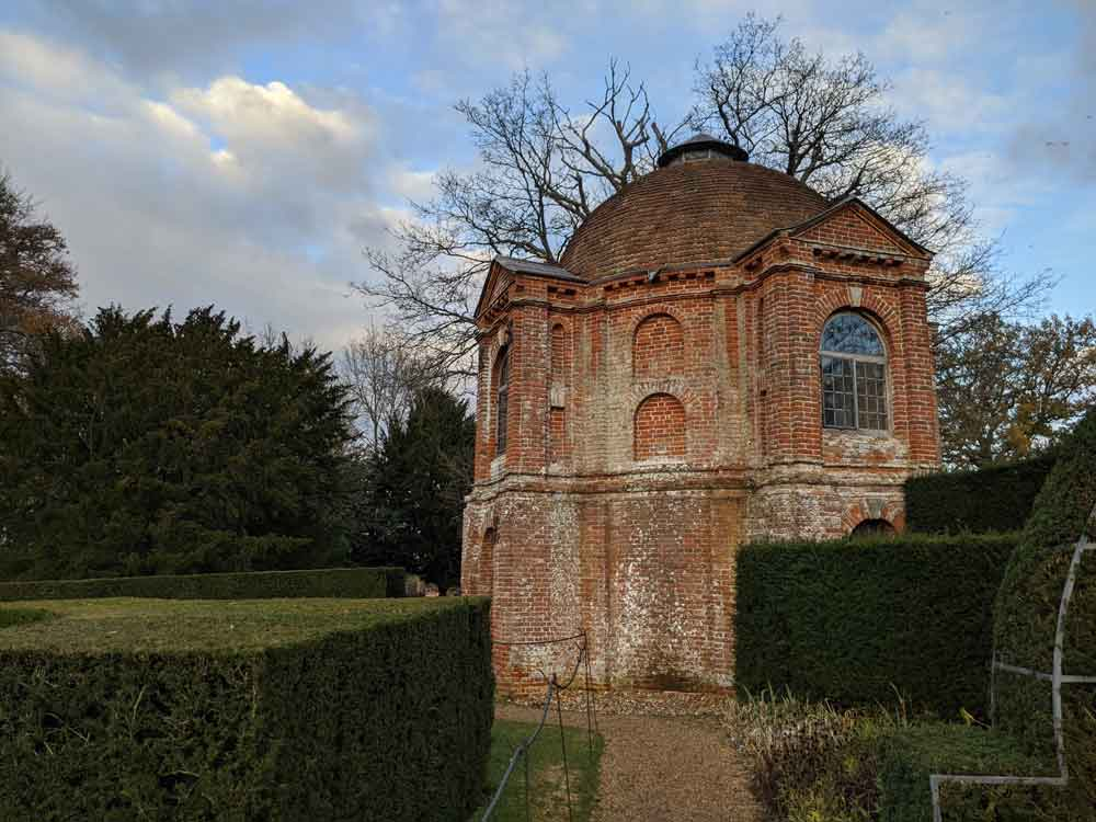 The summer house at the Vyne, Hampshire