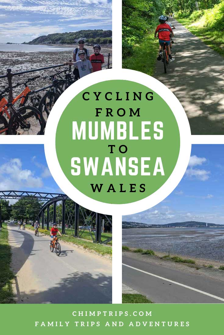 Pinterest: Cycling from Mumbles to Swansea