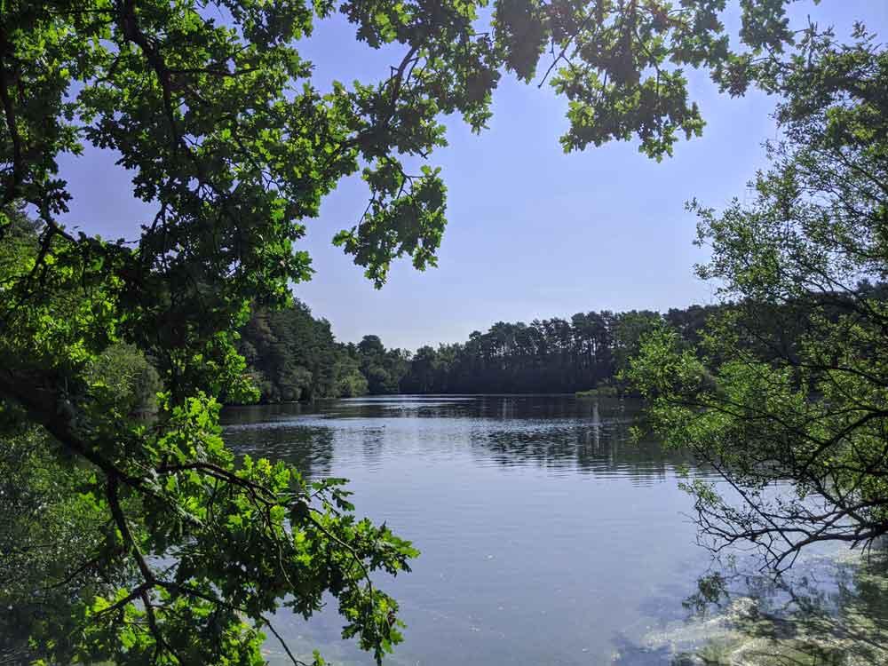 Heath Lake, Crowthorne, Berkshire, UK