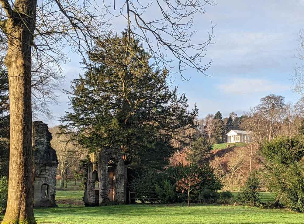 Mausoleum, Painshill Park, Surrey, UK