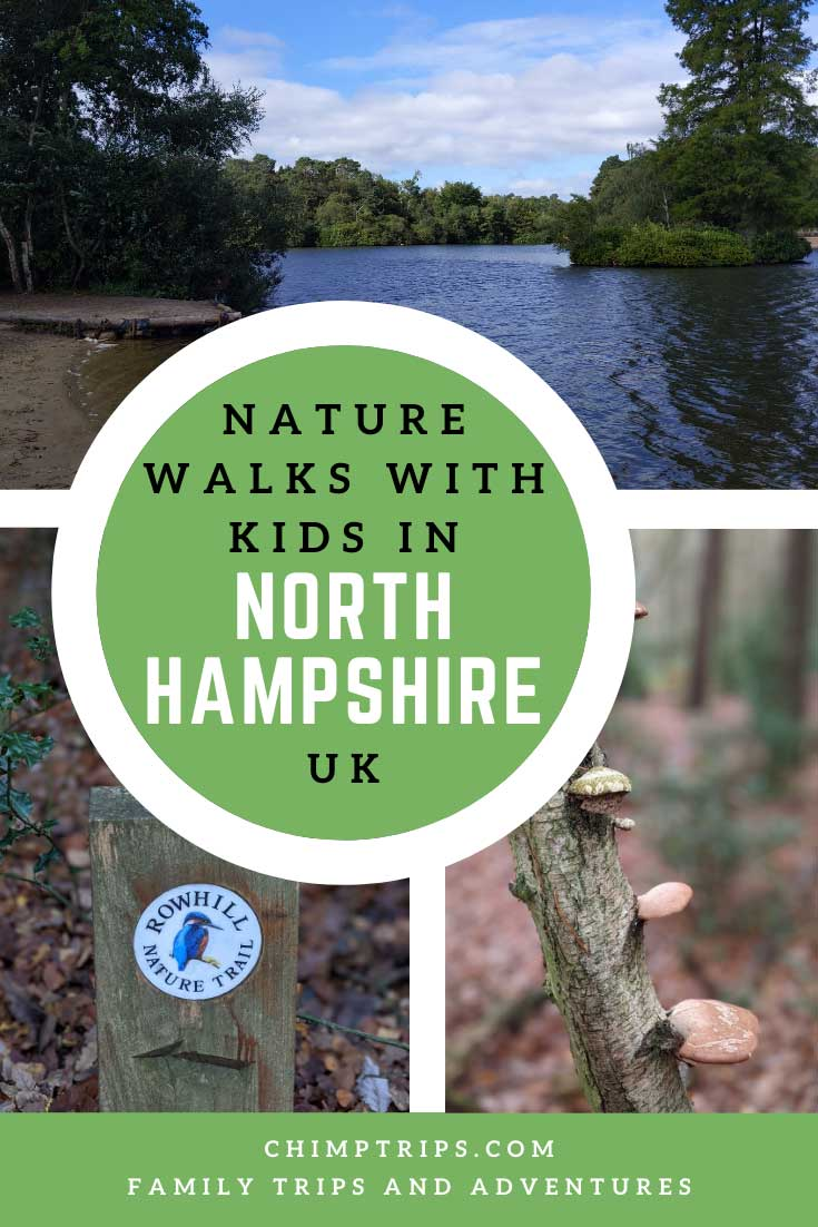 Pinterest: Nature Walks with Kids in North Hampshire