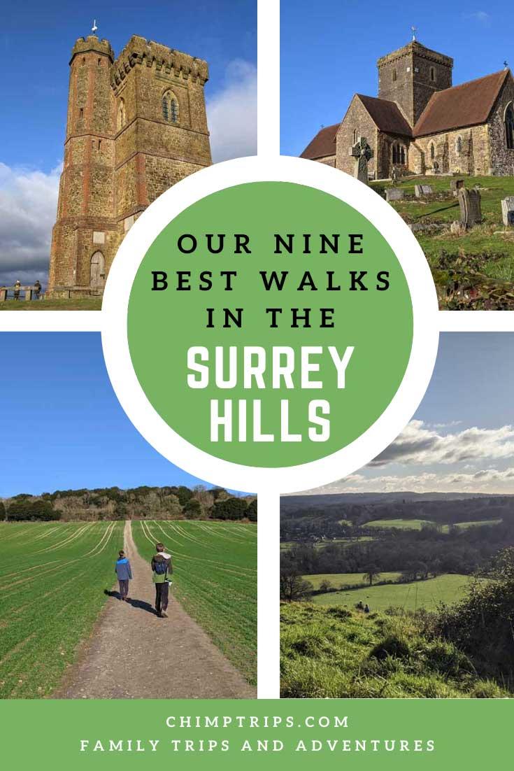 Pinerest: Our 9 best walks in the Surrey Hills, England
