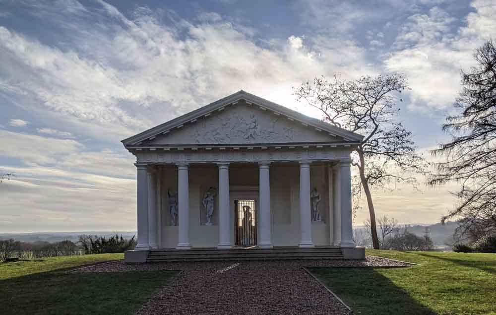 Temple of Bacchus Painshill Park, Surrey, UK