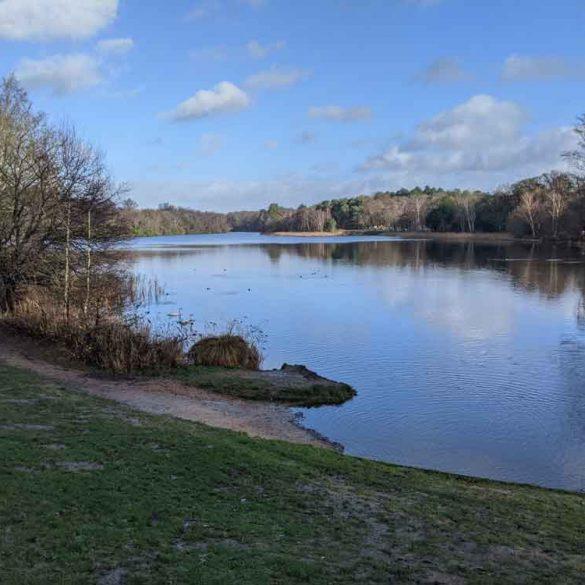 Virginia Water Lake, Egham, Surrey, UK