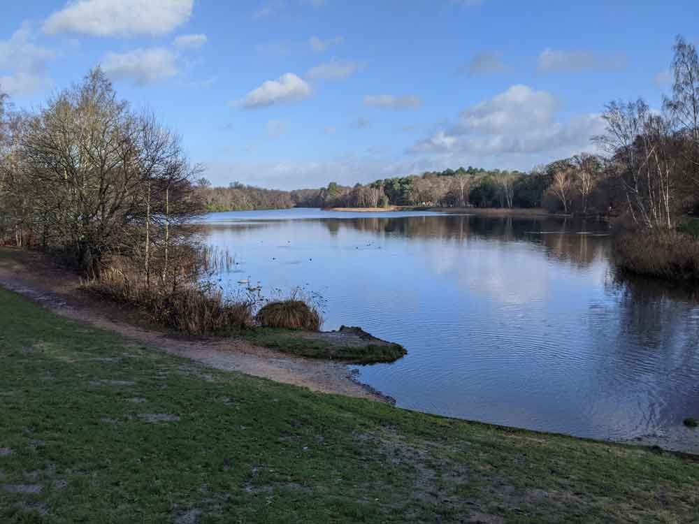 Virginia Water Lake, Egham, Surrey, UK