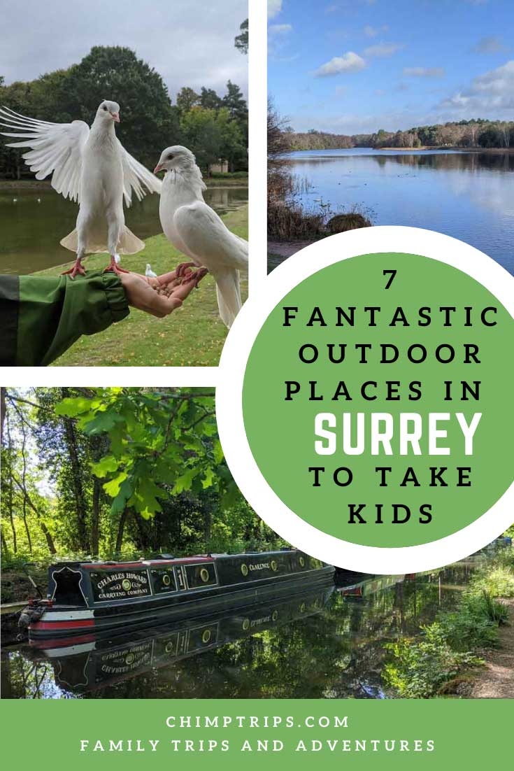 Pinterest: 7 fantastic outdoor places in Surrey to take kids