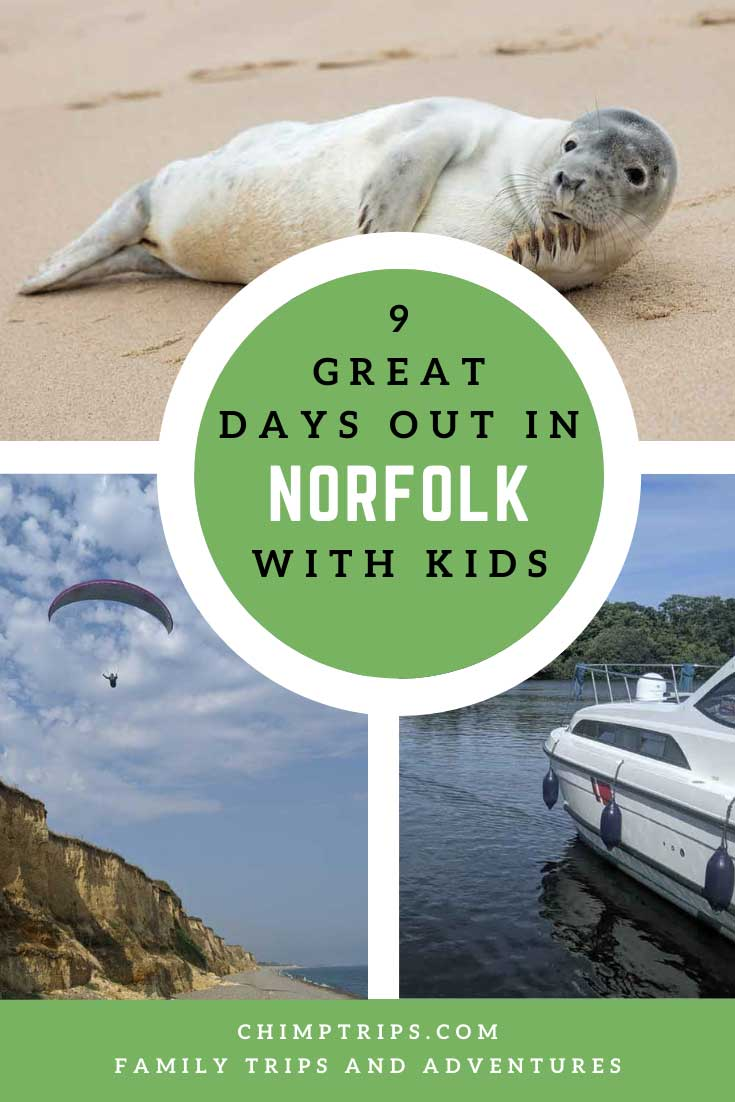 Pinterest: 9 great days out in Norfolk, UK
