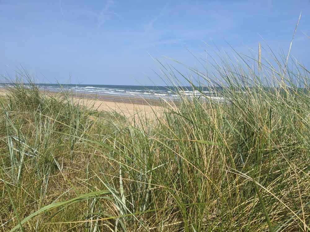 Beach at Brancaster, Norfolk, UK