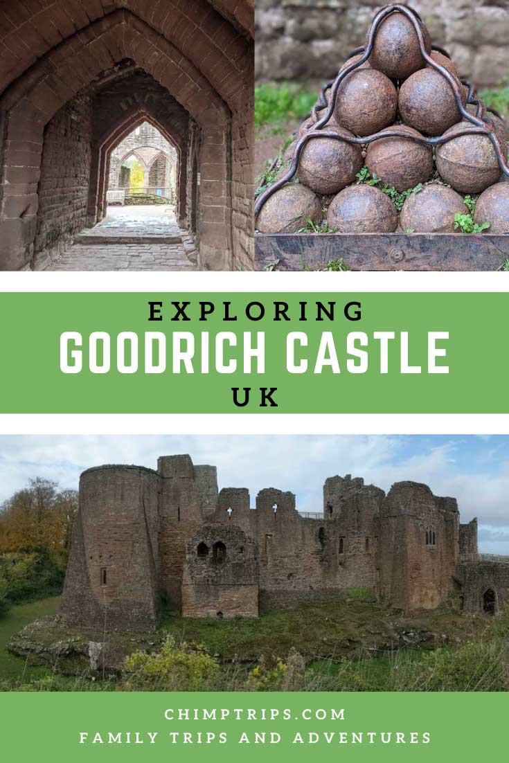 Pinterest: Exploring Goodrich Castle, UK