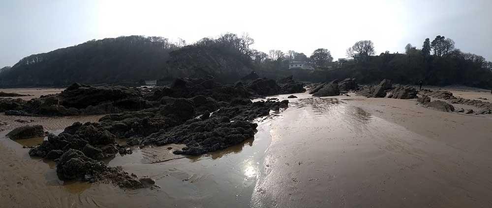 Glen Beach, Saundersfoot, Wales, UK