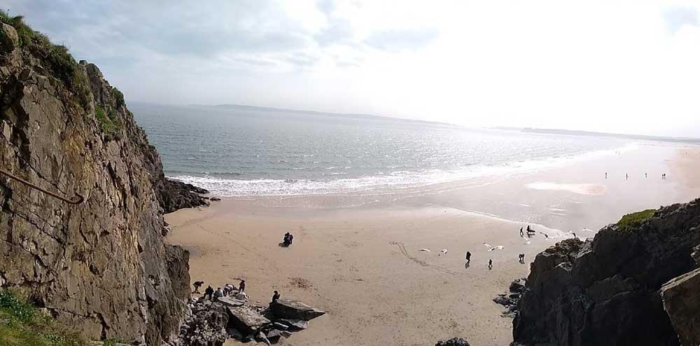 North Beach, Tenby, Wales, UK