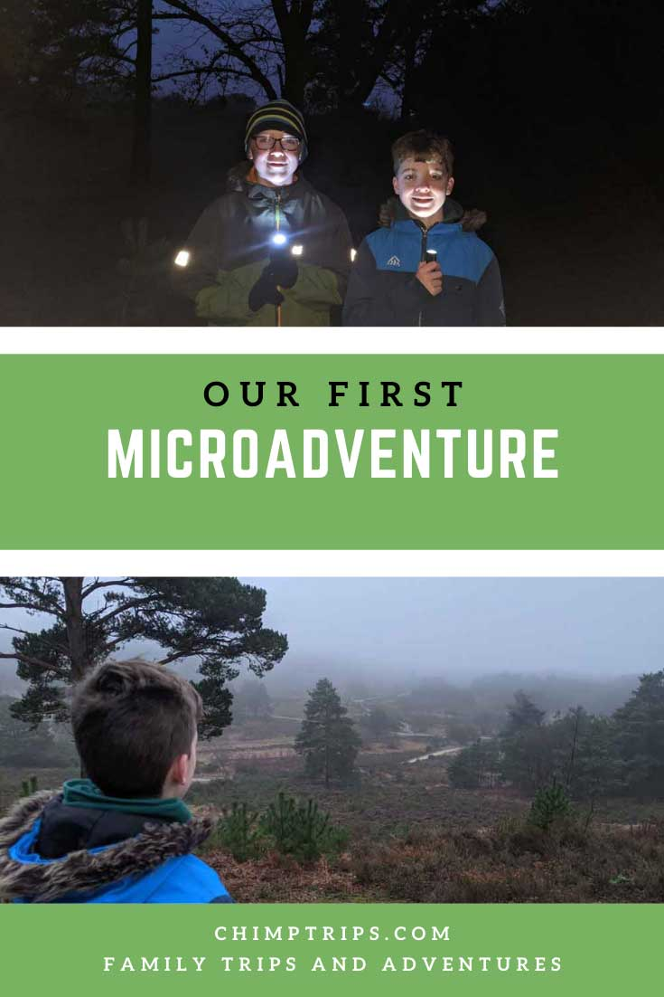Pinterest Our first microadventure