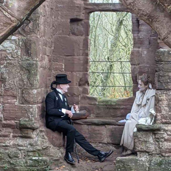 Spooky stories at Goodrich Castle