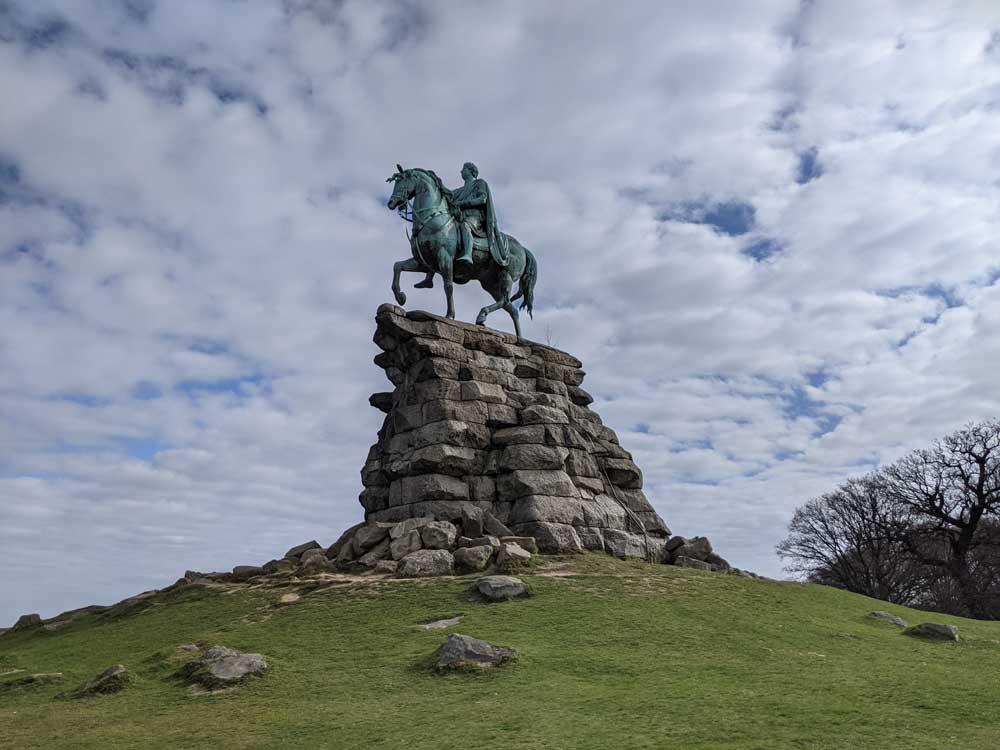 The Copper Horse, Windsor Great Park, Berkshire, UK