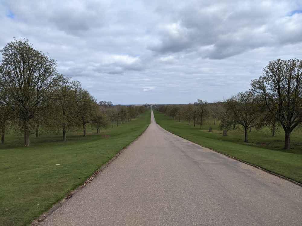 The Long Walk, Windsor, Berkshire, UK