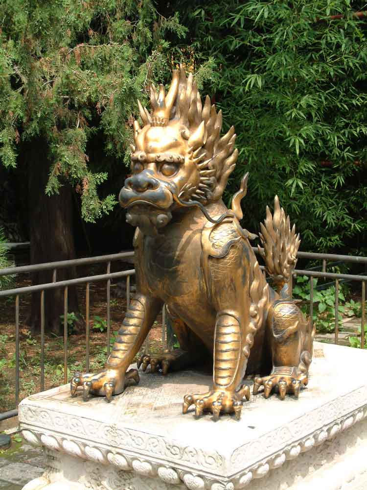 Dragon Statue, Ming tombs, Beijing, China