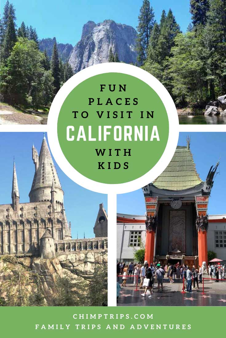 Pinterest: Fun places to visit in California
