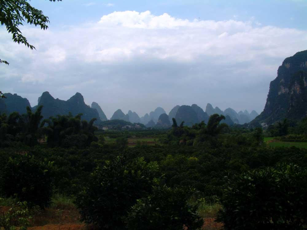 Karst Countryside, China