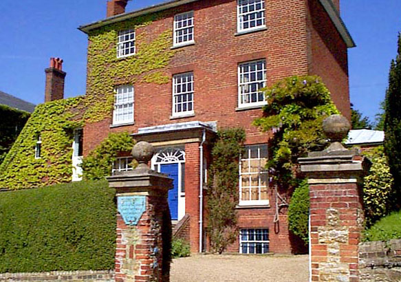 """Lewis Carroll's house in Guildford, """"Chestnuts"""""""