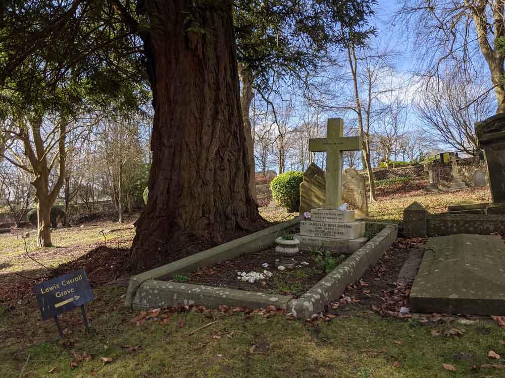 Lewis Carroll's Grave, Guildford, Surrey, UK