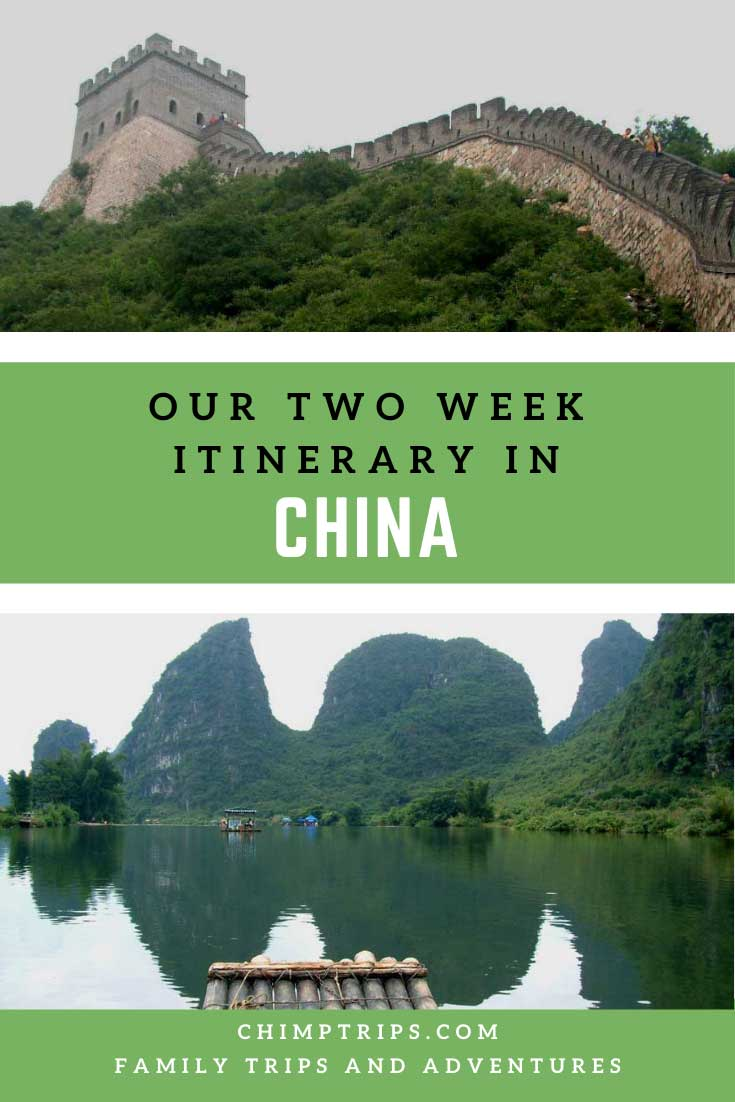 Pinterest: Our two week itinerary in China