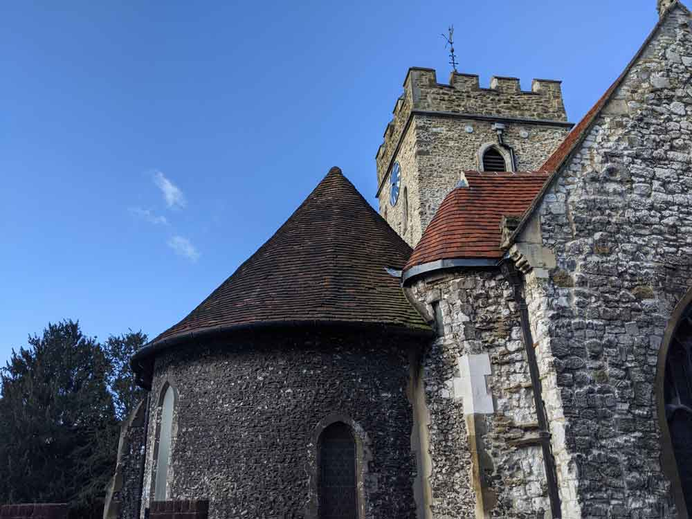 St Mary's Church, Guildford, Surrey, UK