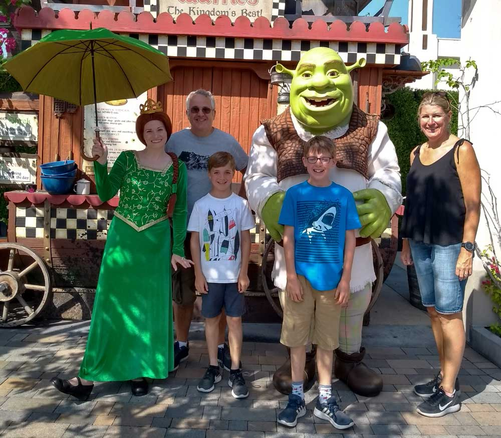 Universal Studios - Shrek encounter, Los Angeles, California