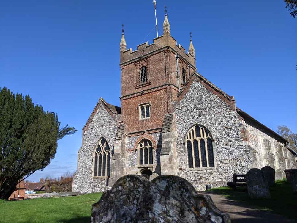 All Saints Church, Odiham, Hampshire, UK