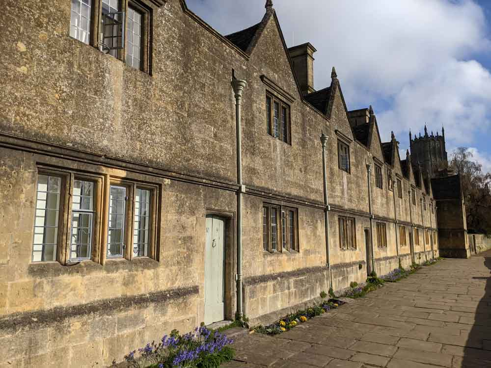 Almshouses, Chipping Campden, Cotswolds, UK