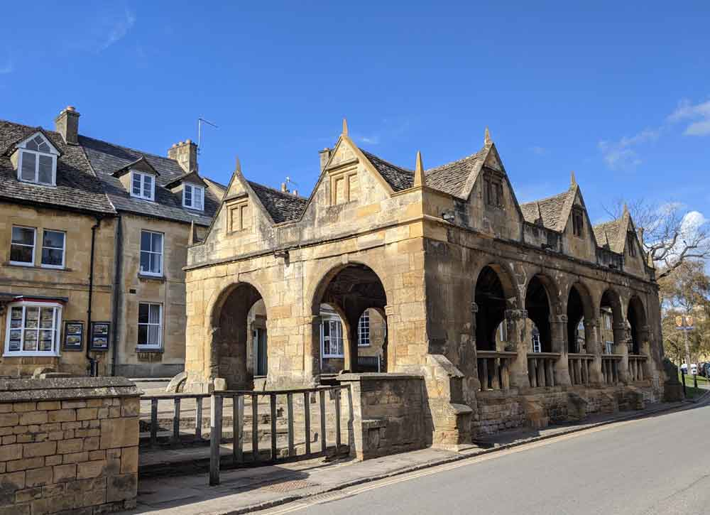 Chipping Campden, Market Hall, Cotswold, UK