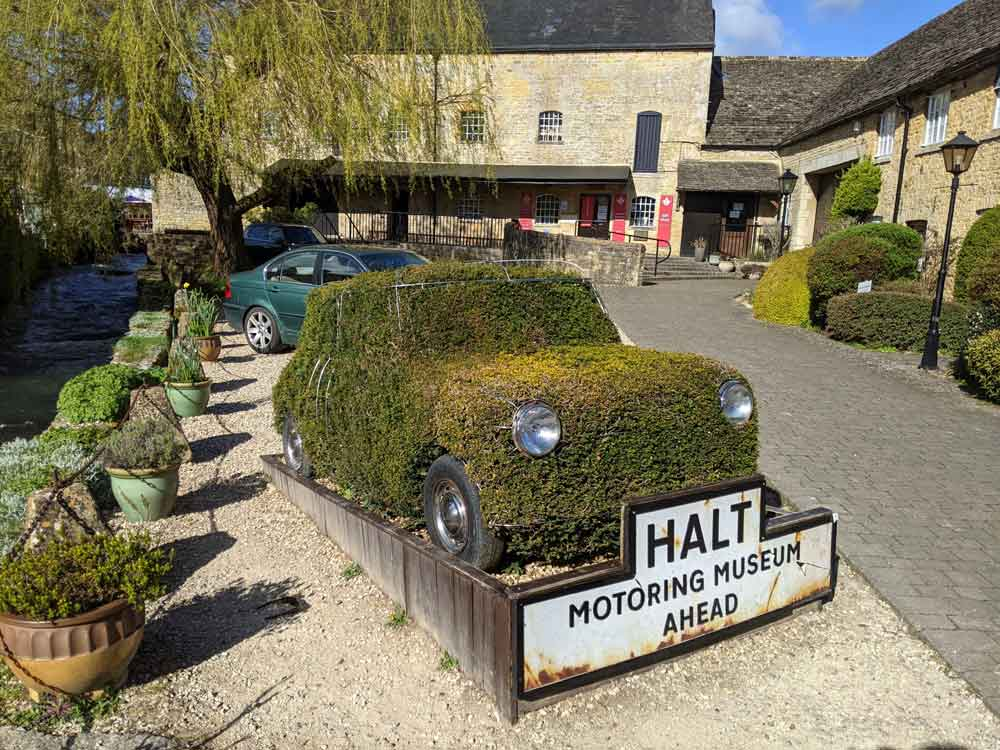 Motoring Museum, Bourton on the Water, Cotswold, UK