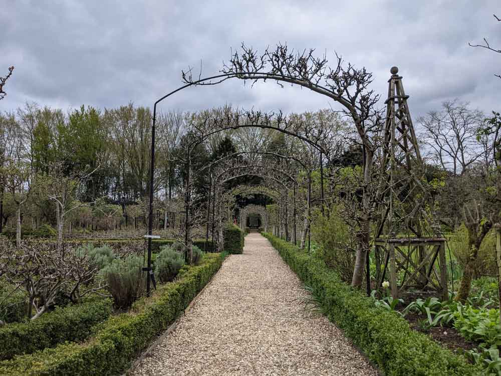 Walled Gardens at West Green House, Hampshire, UK