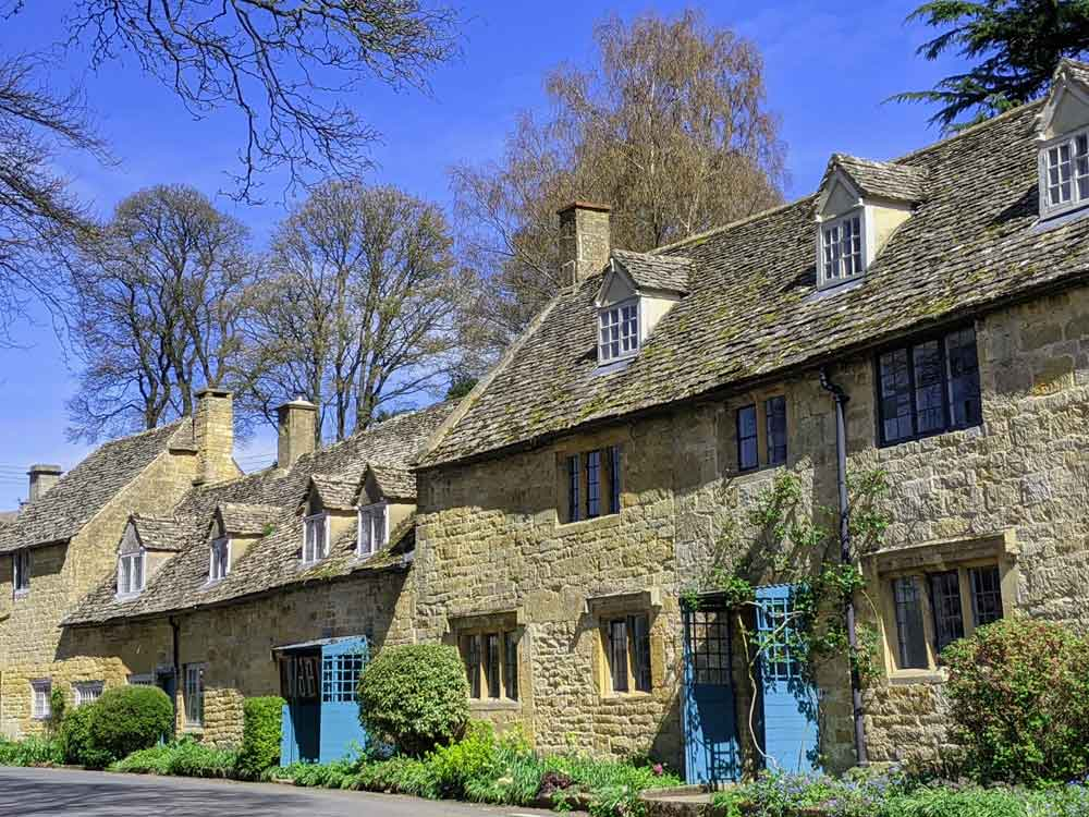 Snowshill Village Houses, Snowshill, Cotswold, UK