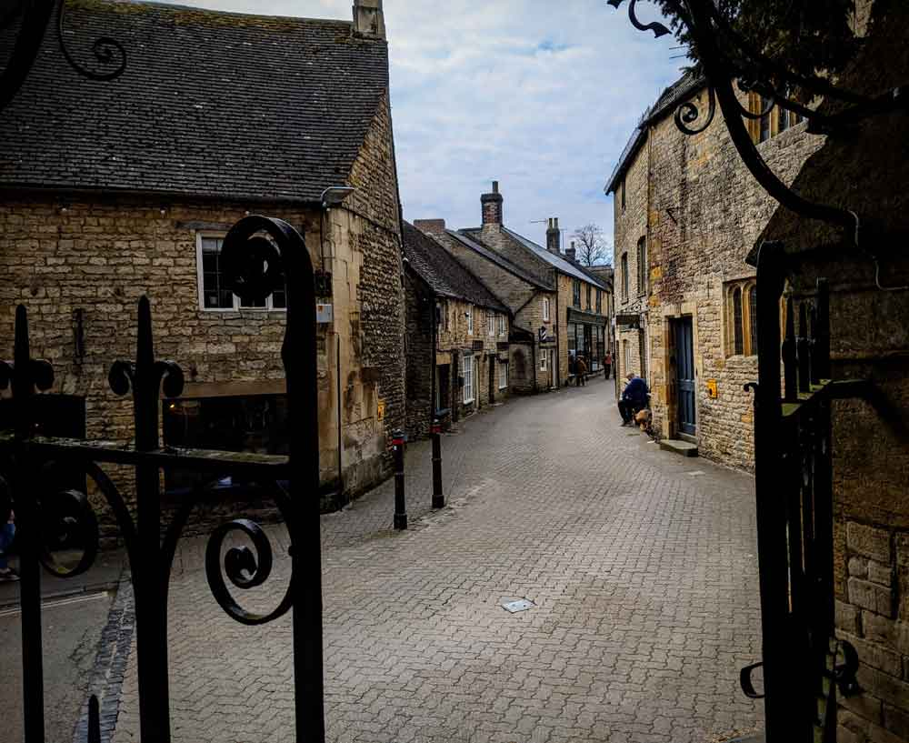 Stow on the Wold street, Cotswold UK