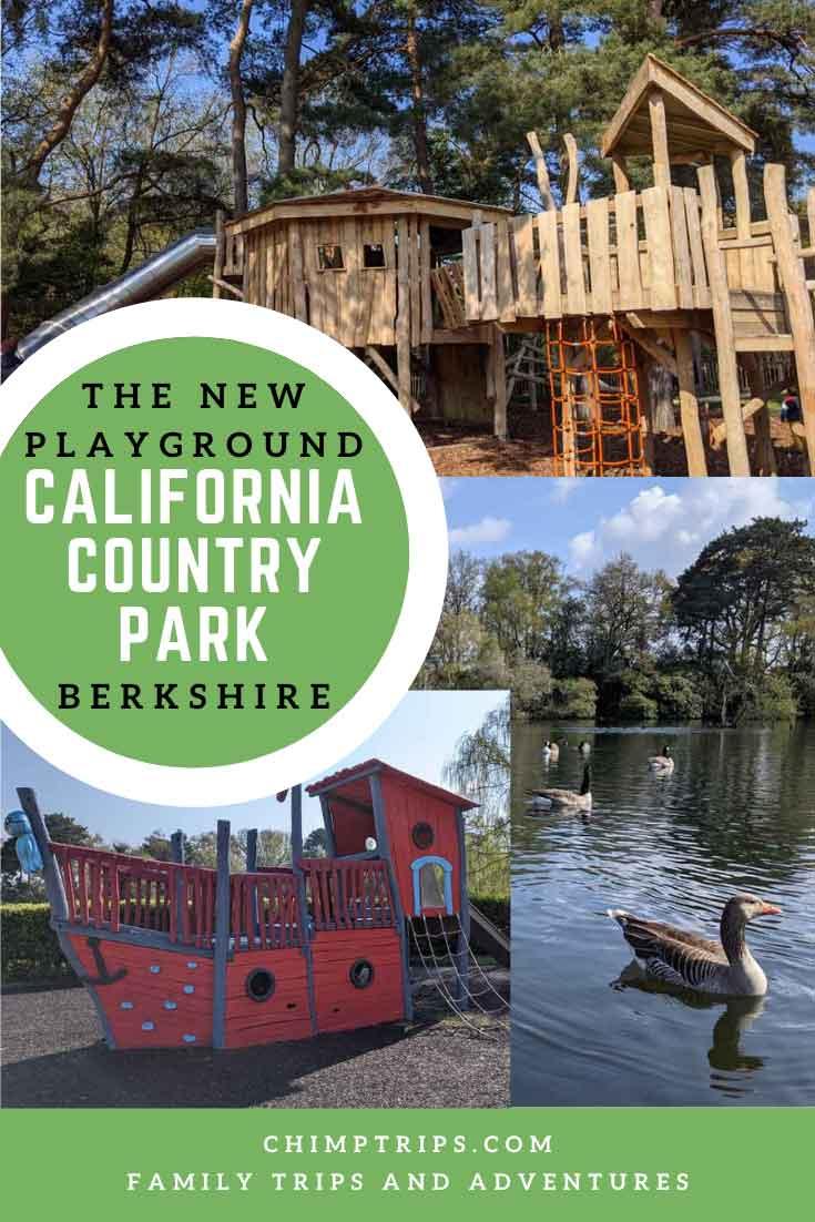 Pinterest: The new playground at California Country Park, Berkshire, UK