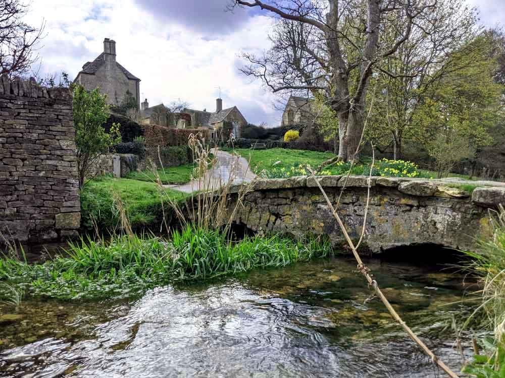 Village Stream, Upper Slaughter, Cotswold, UK
