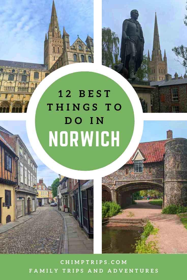 Pinterest: 12 Best things to do in Norwich
