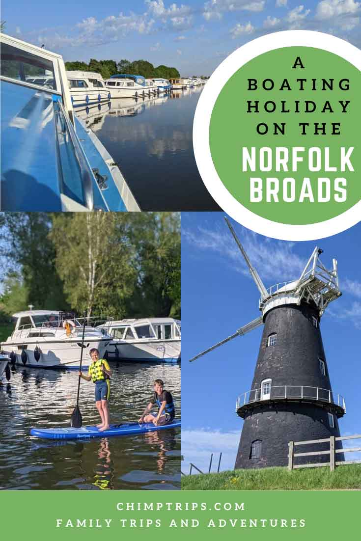 Pinterest: A boating holiday on the Norfolk Broads