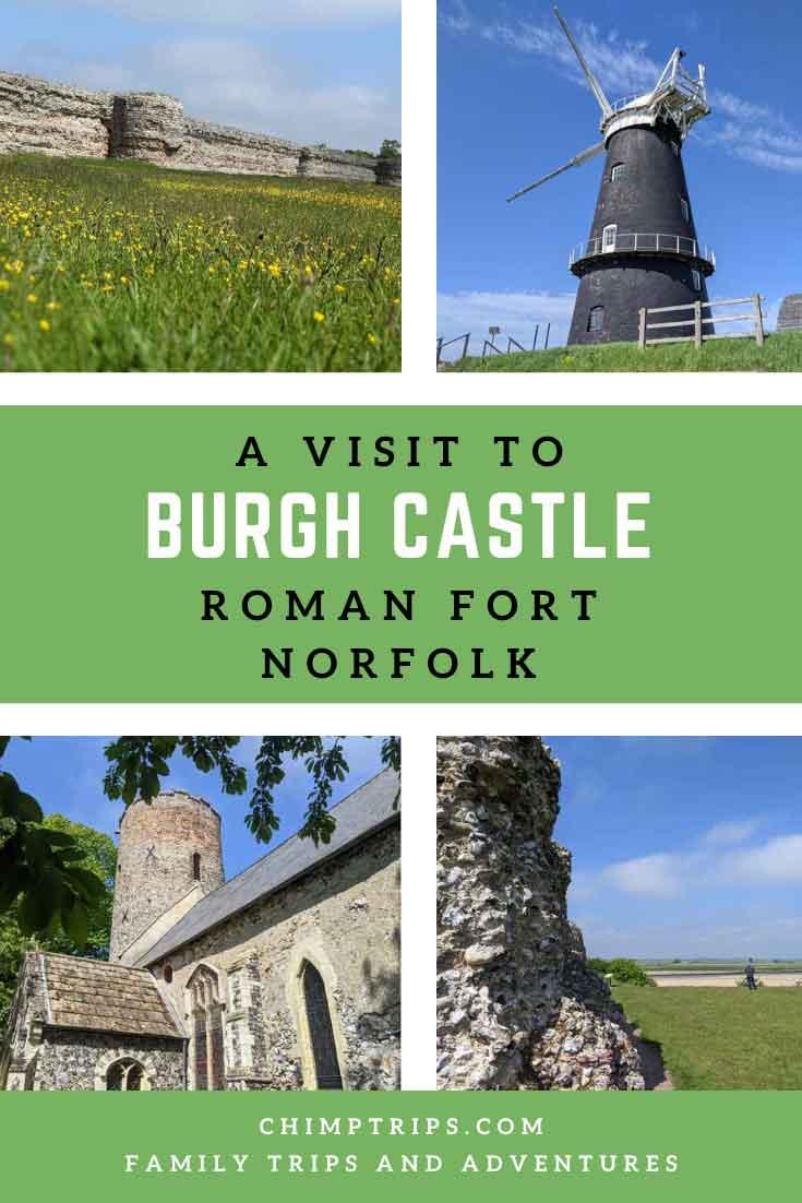 Pinterest: A visit to Burgh Castle, Norfolk, UK