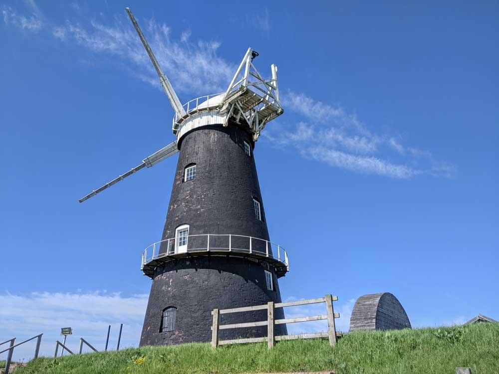 Berney Arms Windmill, Norfolk Broads, Norfolk, UK