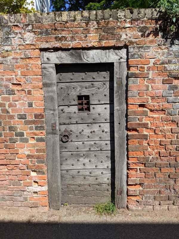 Medieval Door, Beccles, Suffolk, UK