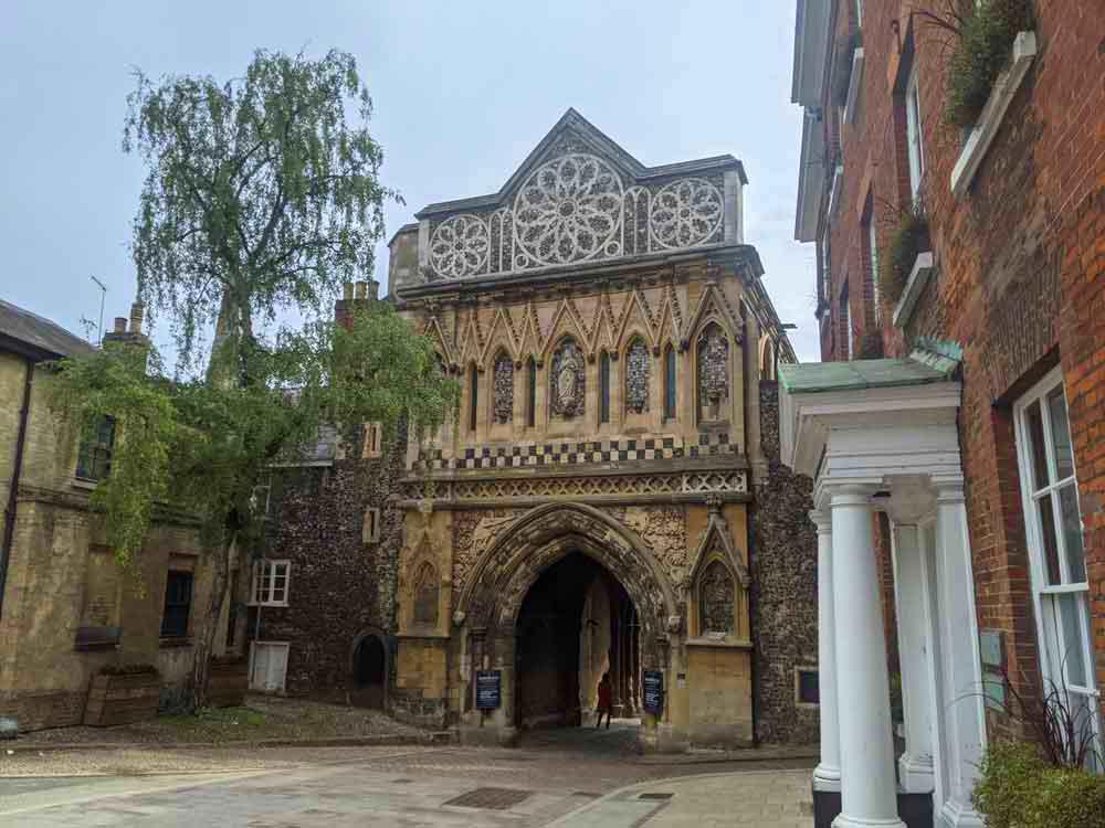Erpingham Gate, Norwich, UK