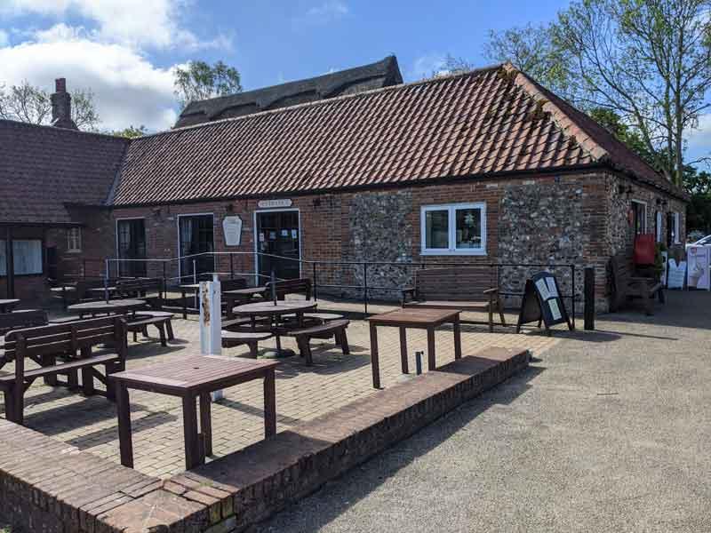 Granary Stores & Tea Shop, Ranworth, Norfolk, UK