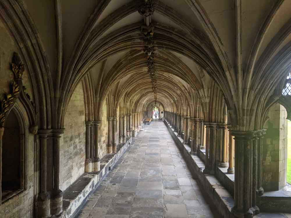 Norwich Cathedral Cloisters, Norwich, UK