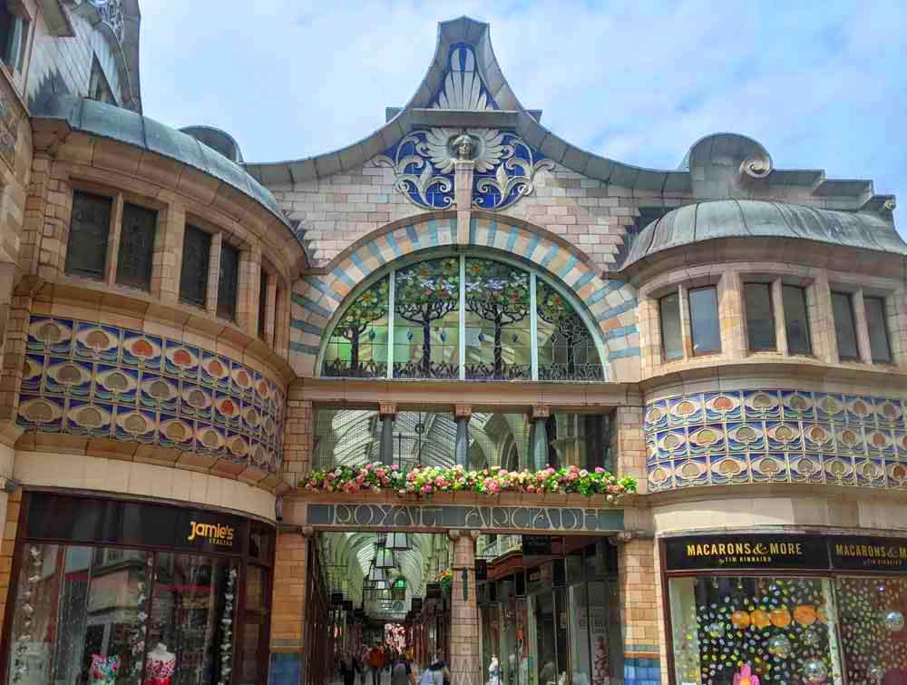 Royal Arcade, Norwich, UK