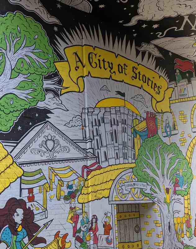 Norwich Street Art, Norwich, UK
