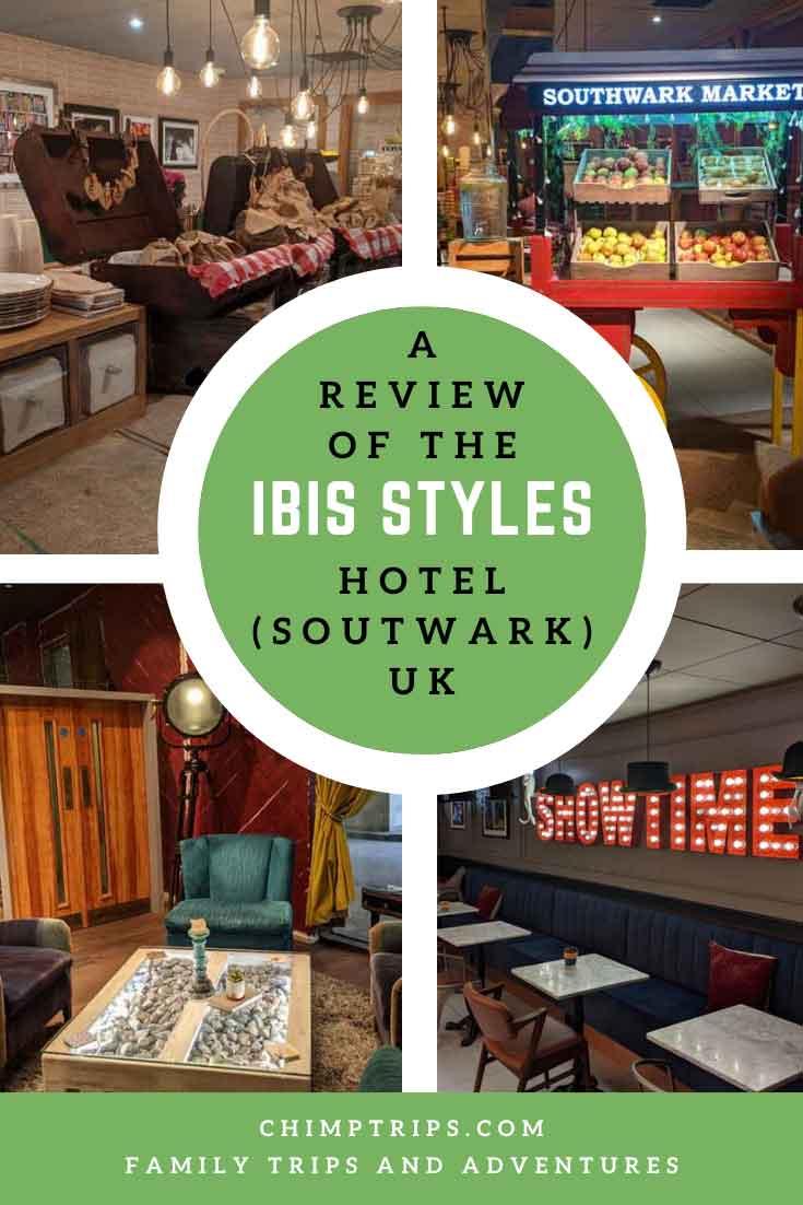 Pinterest: A review of the Ibis Styles hotel Soutwark, London, UK